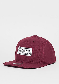 Mitchell & Ness Poly Knit burgundy