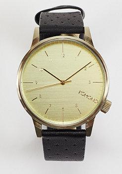 Komono Horloge Winston black zirconium