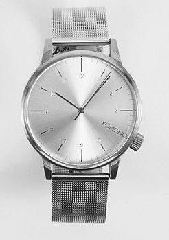 Komono Horloge Winston Regal silver