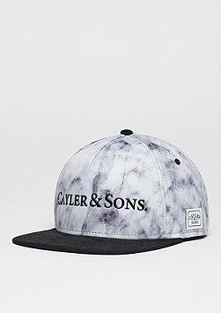 Cayler & Sons Snapback-Cap WL Infinity white marble/black