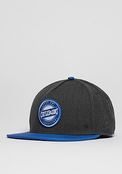 Snapback-Cap CL Carry On grey/royal blue/white