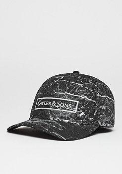 Cayler & Sons C&S WL Cap Curved Infinity black marble/white