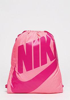 NIKE Turnbeutel Heritage digital pink