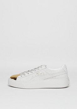 Puma Schuh Suede Platform gold/puma white