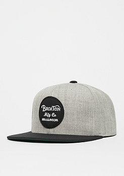 Brixton Wheeler light heather grey/black