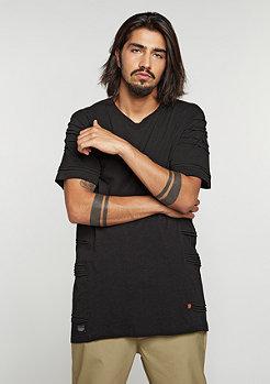 T-Shirt Long Tee black