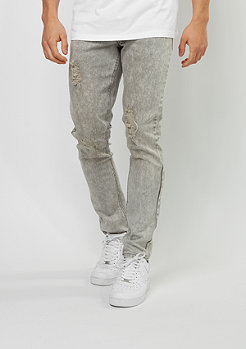 Jeans-Hose Denim Pant grey wash destroyed
