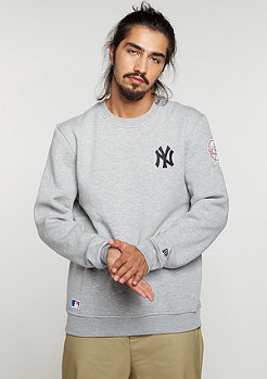 New Era Sweatshirt MLB New York Yankees light grey heather