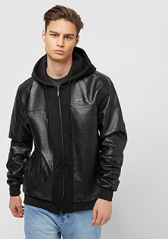 Pelle Pelle Mix-Up Hooded pitchblack