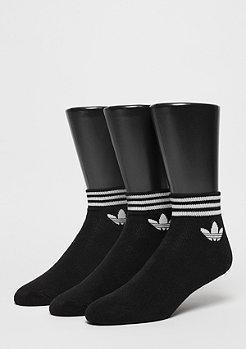adidas Trefoil ANK STR black