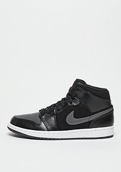 JORDAN Air Jordan 1 Mid Winterized black/gym red/grey/white