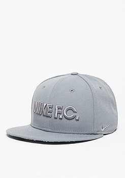 NIKE Snapback-Cap FC True cool grey/black/cool grey