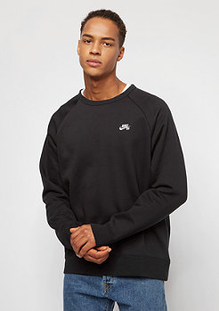 NIKE SB Sweatshirt Icon Fleece black/white