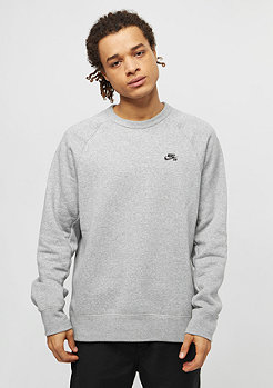 Sweatshirt Icon Fleece dark grey heather/black