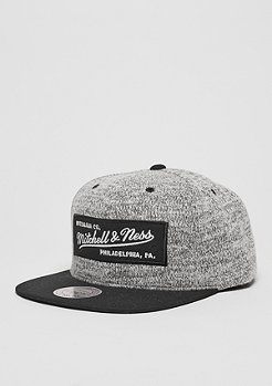 Snapback-Cap Grey Duster grey/black