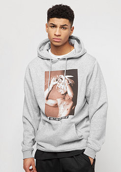 Artist by Mister Tee Sweat à capuche Only God Can Judge Me heather gris