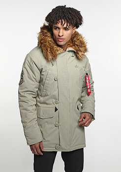 Alpha industries winterjacke explorer khaki