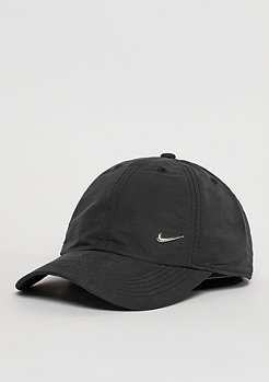 NIKE Strapback cap (youth) Metal Swoosh H86 black/metallic silver