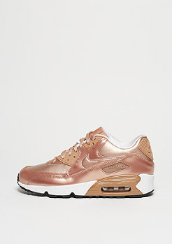 NIKE Schuh Air Max 90 SE (GS) Leather metallic red bronze/metallic red bronz
