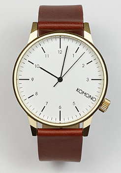 Komono Uhr Winston Regal chestnut
