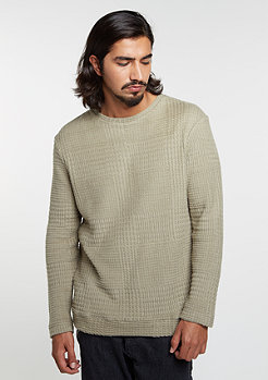 Sweatshirt Knitcrew Checked silver savage