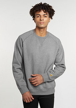 Sweatshirt Chase dark grey heather