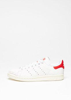 Schuh Stan Smith white/white/collegiate red