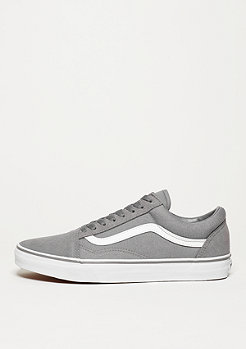VANS Skateschuh Old Skool Suede Canvas frost grey/true white