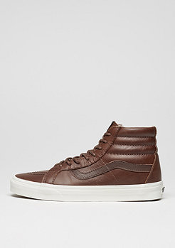 VANS Skate Schuh Sk8-Hi Reissue Leather dachshund/potting soil