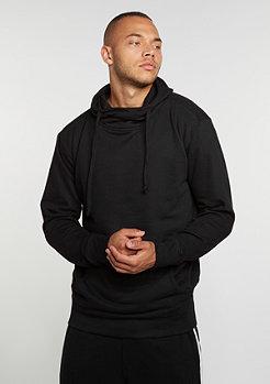 Hooded-Sweatshirt Loose Terry Long black
