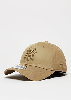 New Era Baseball-Cap Tonal League Essential MLB New York Yankees wheat