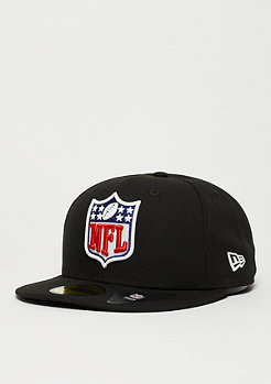 Fitted-Cap GITD Fitted NFL Shield black