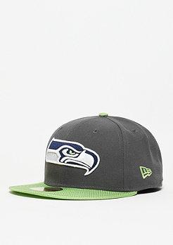 Fitted-Cap Ballistic Visor NFL Seattle Seahawks green
