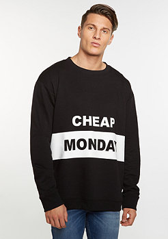 Cheap Monday Sweatshirt Victory Sweat Block Logo black