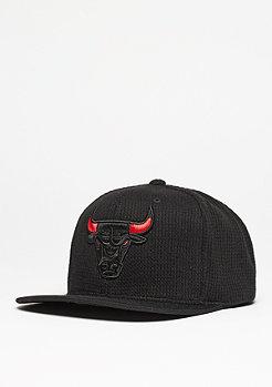 Mitchell & Ness Snapback-Cap Waffle NBA Chicago Bulls black