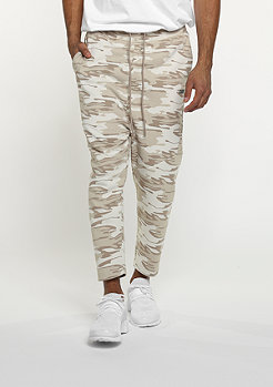 SNIPES Trainingshose D. Camo beige/lt brown/grey