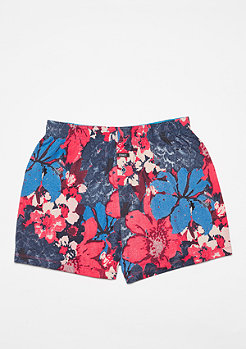 Boxershort The Vista Night Flowers red
