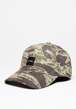 Cayler & Sons Baseball-Cap BL Section Curved Cap tiger camo/black/white