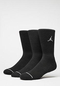 JORDAN Chaussettes de sport Jumpman Crew 3PPK black/black/black