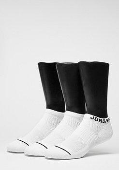 JORDAN Sportsocke No-Show 3PPK white/white/white
