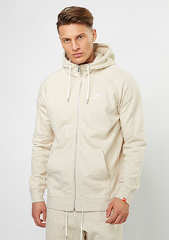 Hooded-Sweatshirt NSW Legacy FZ FT oatmeal heather/sail
