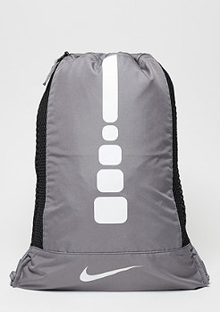 NIKE Hoops Elite Gym Sack charcoal/charcoal/white