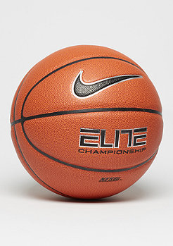 NIKE Basketball Elite Championship 8-Panel (Size 7) orange/black