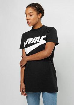 NIKE Top Irreverent black/black/white
