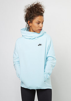 NIKE Tech Fleece Hoodie PO glacier blue/black