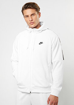 NIKE Hooded-Zipper Tribute white/black
