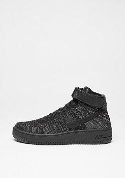 NIKE Basketballschuh Air Force 1 Flyknit black/black/white