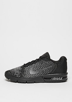 NIKE Running Air Max Sequent 2 black/metalic hematite/dark grey