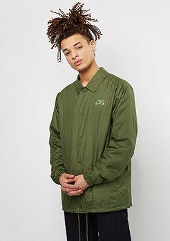 NIKE SB SHLD Jacket Coaches legion green/palm green