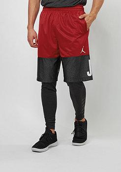 JORDAN Sport-Short Classic AJ Blockout gym red/black/white